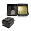 L-com Releases UL® Listed Black NEMA Enclosures with 120V AC Power