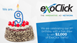 ExoClick celebrates its 9th birthday with a prize draw to win $2,000 of ExoClick traffic