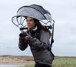 """Season One Shark Tank presenter, Nubrella, releases new upgraded Hands-Free & Wind-Resistant Umbrella!"""