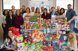 Starion Energy, Inc. kicks off the holiday season by donating over $1,500 of nonperishable food items and health supplies to the Middlebury, Connecticut Community Food Bank.  Employees also start a month long toy collection drive that they hope will help