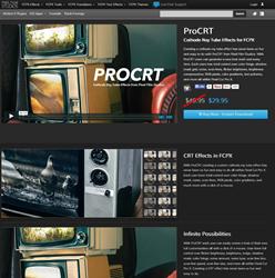 Pixel Film Studios Pro CRT Plugin.