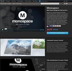 Pixel Film Studios Monospace Plugin.