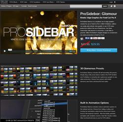 Pixel Film Studios Pro-Sidebar Glamour Plugin.