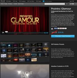Pixel Film Studios Pro Intro Glamour Plugin.