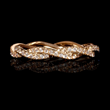 Diamond 18k Rose Gold Eternity Ring (#7530)
