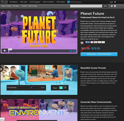 Pixel Film Studios Planet Future Plugin.