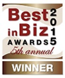 Best in Biz Awards 2015 bronze winner logo