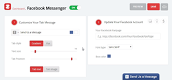Quickly and easily add Facebook Messenger to your website to allow customers to message you directly.