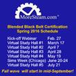 MoreSteam.com Announces 2016 Schedule for Blended Black Belt Certification Program