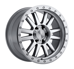 Black Rhino Wheels- Tanay in silver with machine face