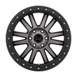 Black Rhino Wheels- Tanay in matte black with machine face and dark tint