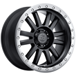Black Rhino Wheels- Tanay in matte black with graphite lip