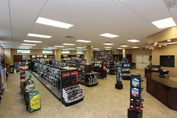 North Trail RV Center's brand new parts megastore located at 4601 Lexington Ave. in Ft. Myers, FL.