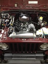 Pro-M EFI Jeep TJ V8 Conversion System.