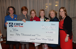 CREW New York Celebrates Breakout Year, Donates $50,000 to Win on...