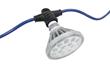 PAR38 LED Lamp that produces 2,500 Lumens of Light