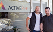 Left ActivePipe founder and CEO Ashley Farrugia, Right ActivePipe CTO John McClumpha