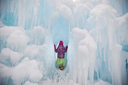 The Eden Prairie Ice Castle