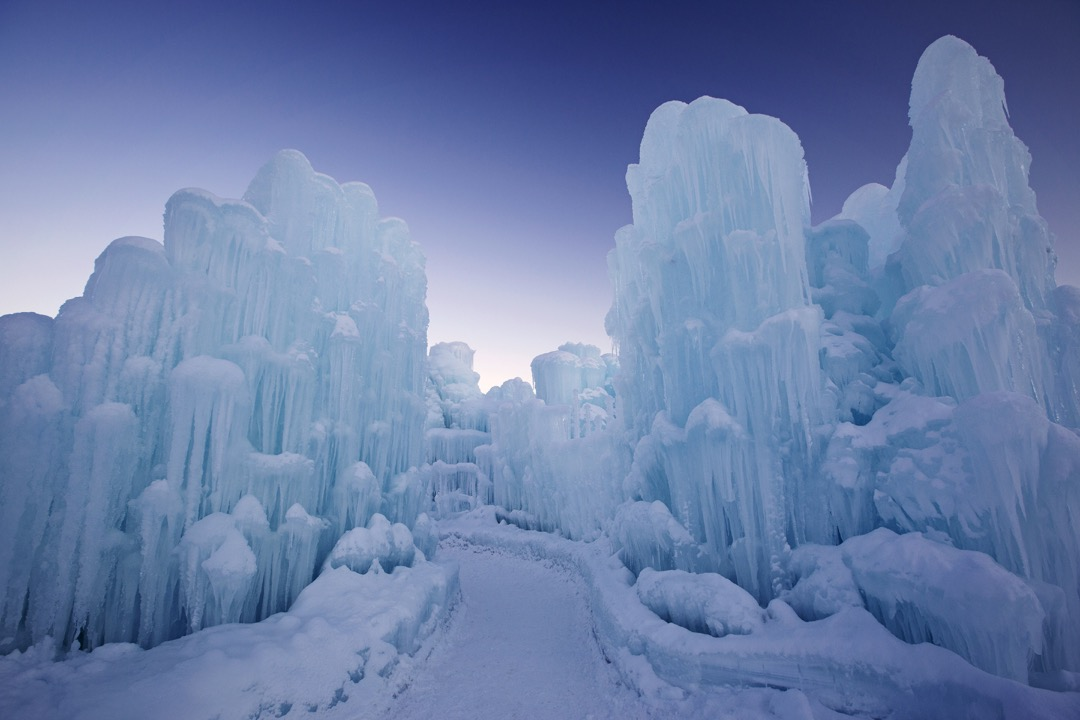 Lincoln New Hampshire Ice Castle Opening Friday Jan 22