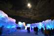 The Ice Castle in New Hampshire