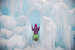The Eden Prairie Ice Castle
