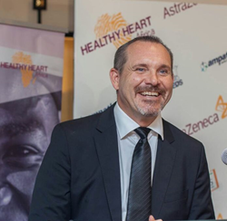 Karl Friberg, Vice President, Healthy Heart Africa and President, AstraZeneca South Africa & Sub Saharan Africa