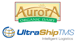 Aurora Organic Dairy Uses UltraShipTMS