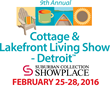 Cottage & Lakefront Living Show Opens Feb. 25 in Novi