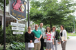 CIP students in front of Red Lion Inn