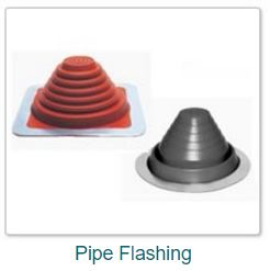 Pipe flashings from FastenersPlus.com