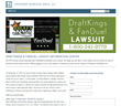 Heninger Garrison Davis File Class Action Lawsuits Against DraftKings and FanDuel Over Alleged Gambling Losses
