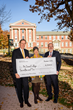 William and Jennifer Hunter with McDaniel College President Roger N. Casey