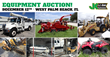 Construction Equipment and Auto Auction, West Palm Beach, FL, December 12, 2015 through JJ Kane Auctioneers