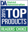 "Rediker Software's AdminPlus Named a 2015 ""Reader's Choice Top Product"" by District Administration Readers"
