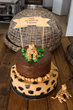 Human visitors at CCF Namibia will enjoy a piece of this chocolate cake in celebration of International Cheetah Day.