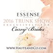 Haute & Co.™ Bridal to Host Exclusive Designer's First Plus Size Wedding Gown Trunk Show
