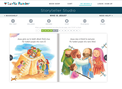 Record adorable Christian eBooks aloud and email them to kids you love