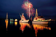 Festival of Lighted Boats Sets Sail through Port of Kalama on Saturday after Waiting out Flooding and High Winds