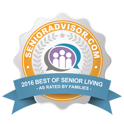 SeniorAdvisor.com Best of Senior Living 2016