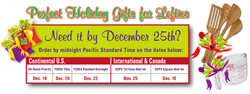 Lefty's Holiday Shipping Schedule 2015