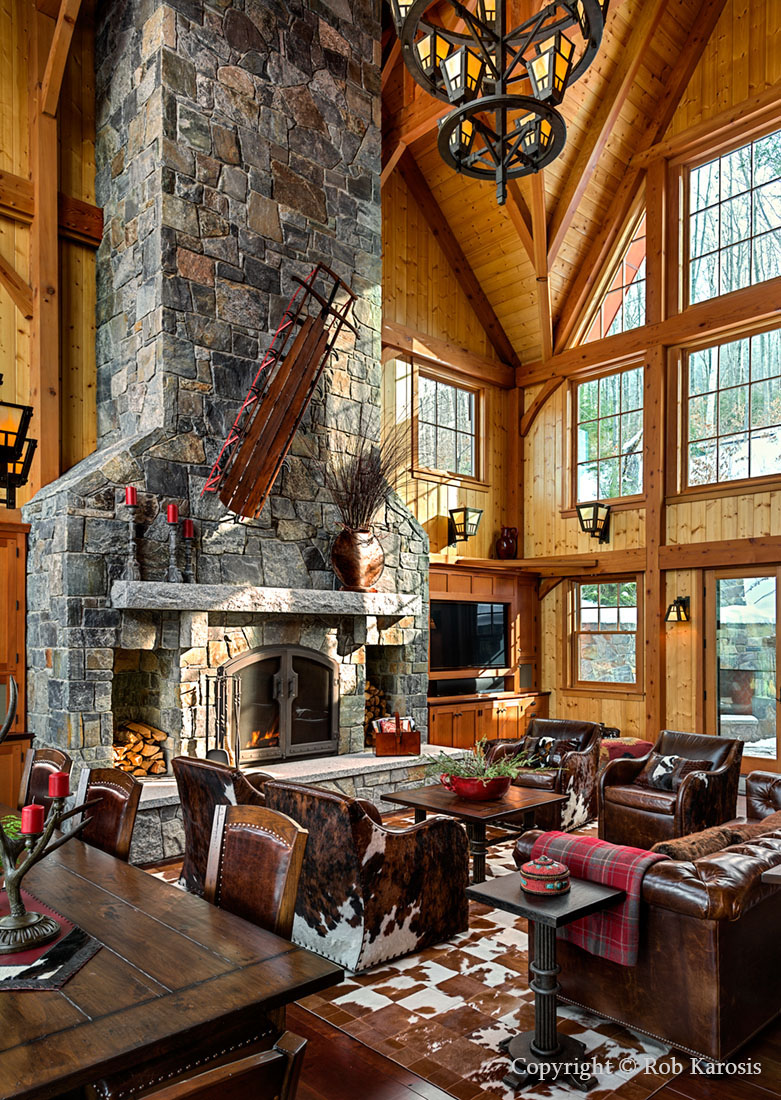 ski home by c randolph trainor interiors presented with