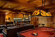 white mountains, ski home, ski home interior design, NH interior designers, ski interior design, entertainment room, ski home bar,