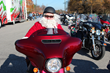 Raleigh H.O.G. members enjoy holiday fun at the Toys For Tots ride at Ray Price Harley-Davidson.