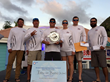 Team 'Turn and Burn' wins second place overall in the 8th Annual SXM Budget Marine Wahoo Tournament.