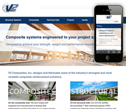 V2's new website features a refreshed design that provides quick and easy access to information.