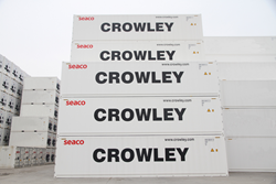 In November 2015, Crowley put 400 new 40-foot high-cube refrigerated containers (leased reefers) into service throughout the Caribbean Basin just in time for peak reefer season.