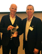 Ixxus CEO Paul Samuel with Alfresco CEO Doug Dennerline