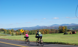 Vermont cycling tour