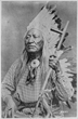 Historical photo of Shoshone Chief Washakie, namesake of Wyoming town of Fort Washakie and known as a champion of education.