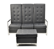"Contemporary & Custom Furniture Leader ""Modern Line Furniture"" Launches New ""Sabrina"" Line of Modular Chairs & Sofas Featuring Silver Powder Coated Steel Frames"